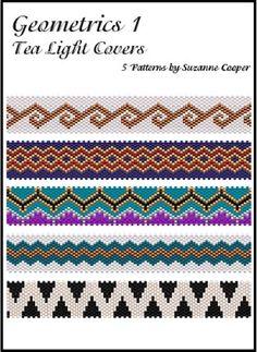 Geometrics #1 Tea Light Covers