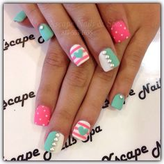 lovely nails and spa – enableyouco lovely nails torrance - Lovely Nails Get Nails, Fancy Nails, Love Nails, How To Do Nails, Fabulous Nails, Gorgeous Nails, Pretty Nails, Simple Nail Designs, Nail Art Designs