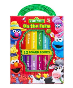 Another great find on #zulily! Sesame Street On the Farm Board Book Set #zulilyfinds