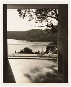 View from Collings house by Max Dupain Modern Artists, Dahl, Science Art, Gelatin, South Wales, Ideal Home, Architects, Contemporary Art, Middle