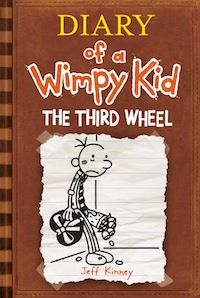 Out November 2012... Cover Reveal: 'Diary of a Wimpy Kid: The Third Wheel'