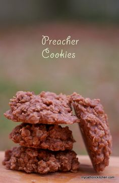 Preacher Cookies via My Catholic Kitchen!! YUM, yum, yummmm!!!