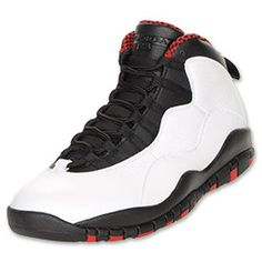 The Jordan Retro 10 (X) Men's Shoes might remind you of the Air Jordan X. With leather upper and some suede for durability, the retro Jordan's are fairly simple and straightforward. A Jumpman logo on the back and outsole adds style, and you can't forget the outsole that lists Jordan's accomplishments.