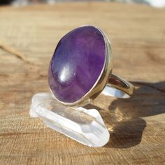 amethyst ring-natural amethyst silver ring-stone ring-925 sterling silver ring-solid silver ring-energy stone ring-adjustable ring by ARTEAMANOetsy on Etsy Adjustable Ring, Amethyst, Gemstone Rings, Silver Rings, Sterling Silver, Natural, Unique Jewelry, Handmade Gifts, Etsy