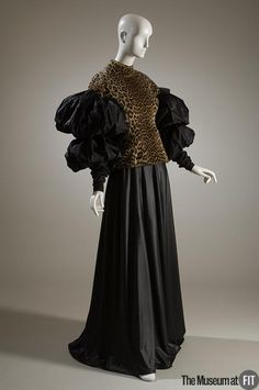 Top, Jean Paul Gaultier, 1988, French, cotton-synthetic and taffeta; via The Museum at FIT (Linked)