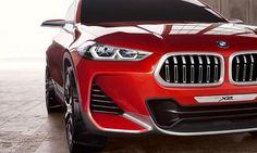Элементы дизайна концепта кроссовера BMW X2 / БМВ Х2 – радиаторная решетка