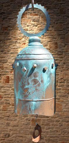 welding art projects for beginners Metal Sculpture Artists, Steel Sculpture, Sculptures, Welding Tanks, Miller Welding Helmet, Welding Art Projects, Welding Ideas, Temple Bells, Metal Welding