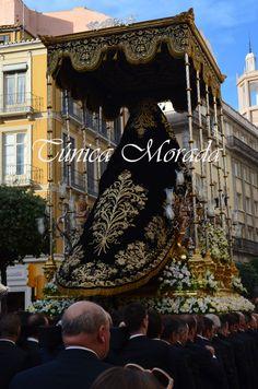 Traslado de la Soledad hacia la Catedral, 2016 Málaga