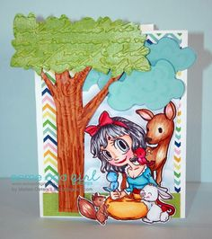 MelissaO - Needful Things Some Odd Girl Snow White Stamp Set