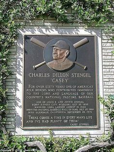 Casey stengel baseball player The mighty Casey...Struck Out!