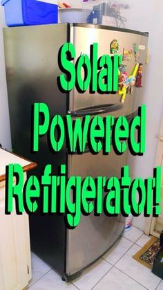 Here is an after the fact implementation of how I power my refrigerator from the sun. This off grid system has been working great since may 2013. It is truly reassuring to know my groceries are safely stored regardless of utility power.I have fulfilled the electrical code requirements (NFPA 70, TTS-171 Part 1) and power utility mandates for my area. If you have to perform the same on your home, all relevant certifications and approvals are needed. Remember for solar power systems, bigger is…