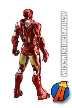 6-inch scale Iron Man Mark Seven Figma action figure from Max Factory. #ironman #avengers #figmafigures #actionfigures #actionfigure #figma