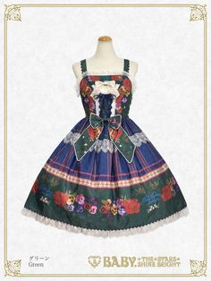 Polonaise Brillante ~Ideas of Maiden~ Corset JSK by Baby, the Stars Shine Bright Lolita Fashion, Corset, Bright, Summer Dresses, Stars, Elegant, Baby, Ideas, Classy