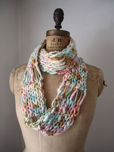 Happiknits Infinity scarf
