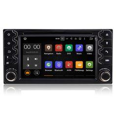 Android Car DVD GPS For Toyota Universal RAV4 Corolla Hilu Prado Stereo Radio BT