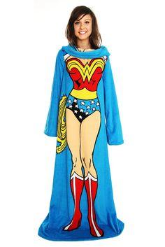 Wonder Woman Snuggie-- fun christmas gift!