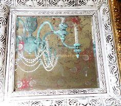 anthropologie acid mirror