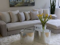 gray and yellow color scheme and living room decorating ideas for fall