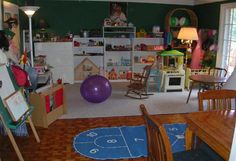 Children's play therapy room! One day I will have this for either my daycare or class room!!!