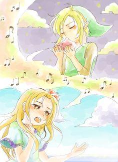 Link's Awakening and Marin song