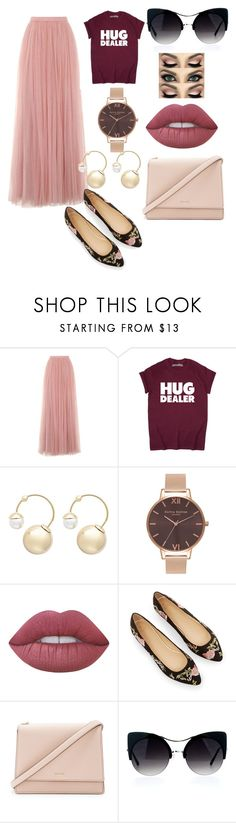 """""""#summer casual outfit"""" by eulica on Polyvore featuring мода, Little Mistress, Witchery, Olivia Burton, Lime Crime и Kate Spade"""