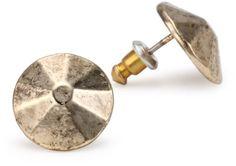 Low Luv by Erin Wasson Metal Gold Stud Earrings