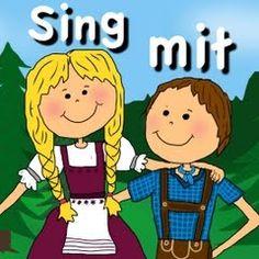 various German kids' songs with lyrics
