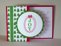Embossing, Blinging, and the Big Shot Fancy Fold Cards, Folded Cards, Joyous Celebration, Big Shot, Gumball, Stampin Up Cards, Cardmaking, Christmas Cards, Celebrations