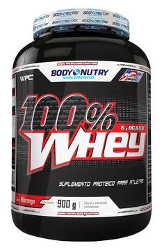 100 % WHEY contém 26 g de #proteína por porção. É um alimento #proteico composto basicamente pela proteína concentrada do soro do leite (WPC), onde se encontra 6 g de BCAA's (L-Leucina, L-Isoleucina, L-Valina) e outros importantes aminoácidos. Perfeito para os treinos insanos!  #bodynutry #whey #proteína #suplemento #nutrição #nutriçãoesportiva #bodybuilding #bodynuilder