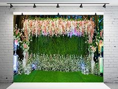 Wedding Photo Background, Wedding Ceremony Backdrop, Floral Wall, Photo Backgrounds, Photo Studio, Backdrops, Wedding Decorations, Photo Wall, Amazon