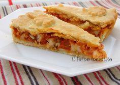 torta di pesce spada- il forno incantato - da una ricetta di montersino