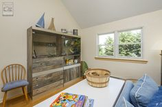 A delightful play area for the kids in this family room where we installed new double hung windows...  . . . . .  Home Remodeling / Home Improvement / Renovations / Replacement Windows from Renewal by Andersen Long Island