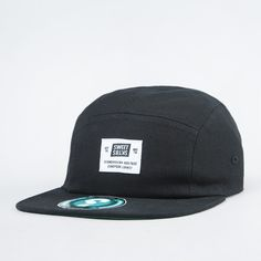 Lippis - 5-Panel Base Black