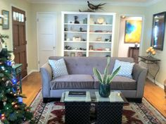 Single sofa makeover. Check out other sofa makeovers at The Sofa Company. www.thesofaco.com
