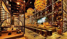 Atisuto Japanese Restaurant by Mojo. Atisuto Japanese Restaurant has been design by Mojo Luxury Restaurant, Restaurant Design, Restaurant Bar, Best Japanese Restaurant, Chinese Restaurant, Unique Restaurants, Sushi Restaurants, Decoration Restaurant, Japanese Philosophy