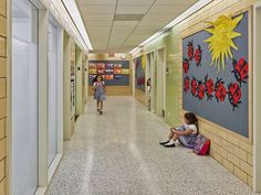 1960s Brutalist Building in Manhattan Transformed into a Vibrant Learning Environment