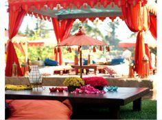Indian table decoration - Indian wedding details - mehndi henna party #mehndi #indianwedding #weddinginspiration