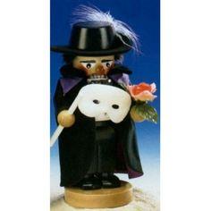 Steinbach Chubby Phantom of the Opera German Nutcracker :)
