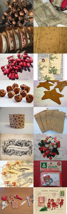 Christmas in the Making by cynthia chapman on Etsy--Pinned with TreasuryPin.com