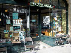 Reading Frenzy #Zine Store #print #publishing