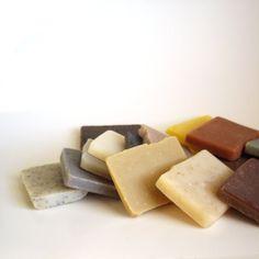 Sampler Soap set,  Vegan Soap, Unscented Soap, Natural by RightSoap, $15.00