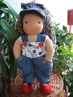 Michelle  17  Handmade  Waldorf Doll by MinnaVel on Etsy