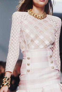fashion inspiration | runway : balmain spring-summer 2014, paris