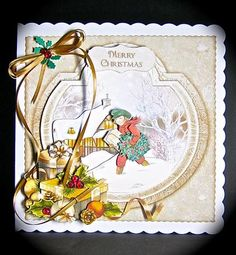 Card Gallery - Carrying Home The Christmas Tree Mini Kit