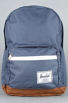 HERSCHEL SUPPLY The Pop Quiz Backpack in Navy : Karmaloop.com - Global Concrete Culture