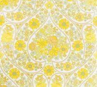 vintage wallpaper yellow