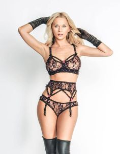 85b86239a Sexy Underwear - Lingerie Set - 3 pc Bra