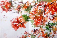 MORE AUTUMN LEAVES by Irene Amore on Etsy