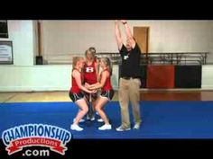 Basic Stunts, Dismounts and Transitions for #Cheerleading #cheerstunting