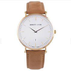 I adore Abbott Lyon super classy watches!!